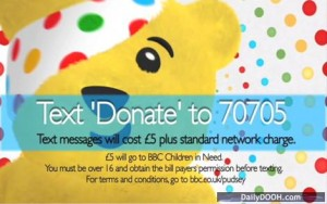pudsey text to pay